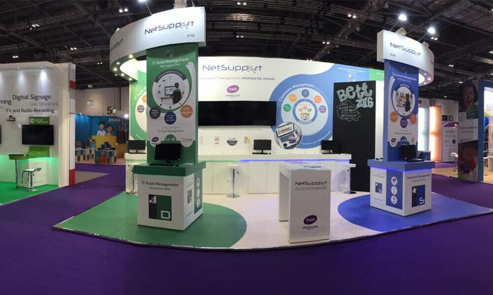 See NetSupport's latest education solutions at Bett 2016 – Stands D118 and C300