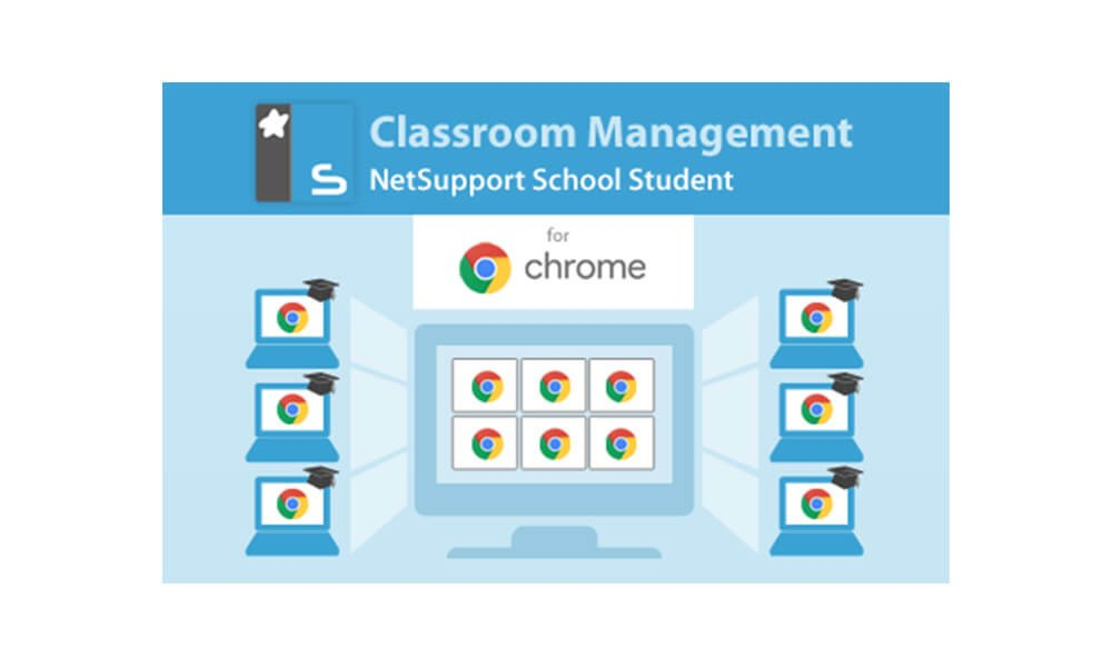 NetSupport introduces updates to the NetSupport School Chrome Student