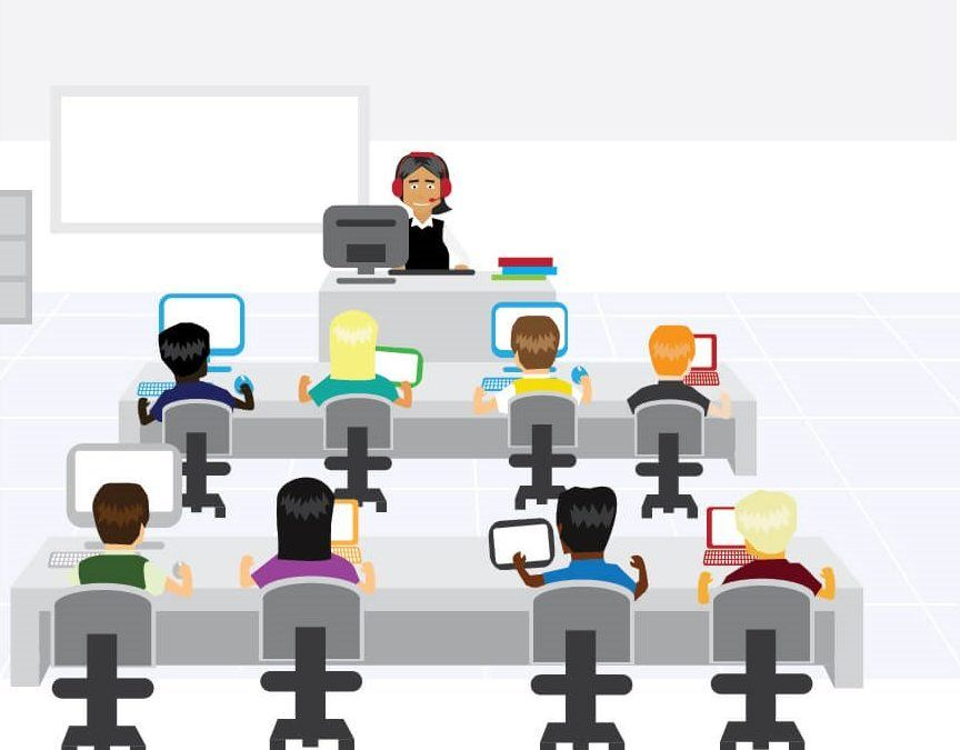 Technology-led classroom