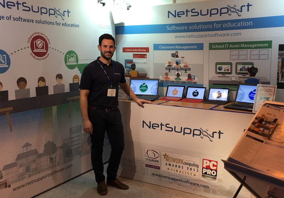 Visit NetSupport at The Academies Show and the E2BN safeguarding conference