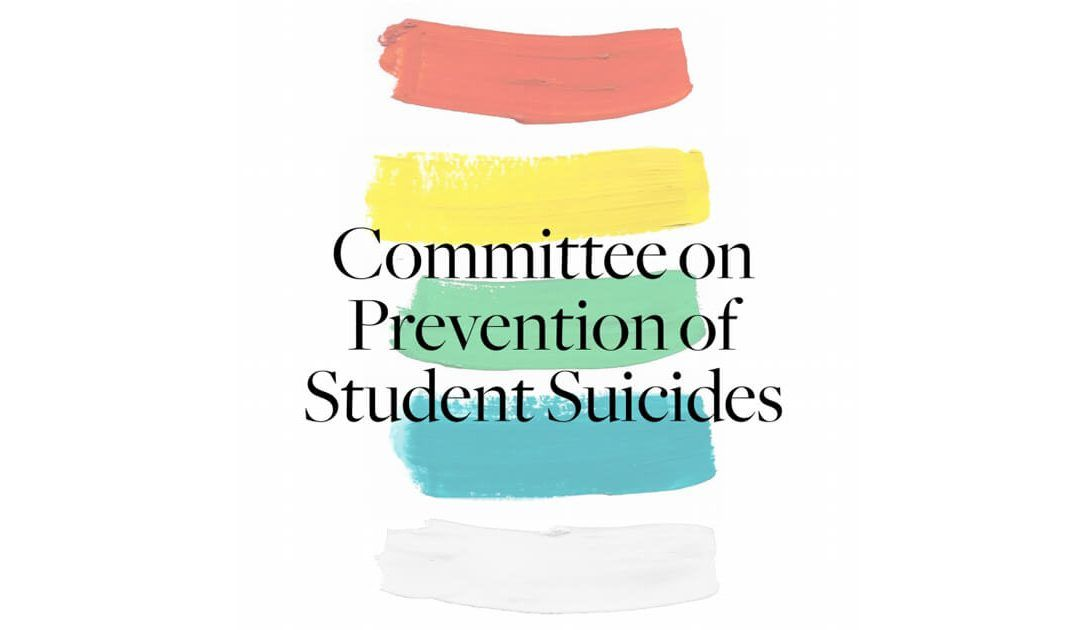 Committee on prevention of student suicides