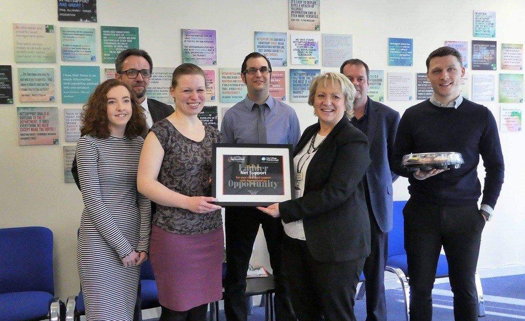 NetSupport is recognised during National Apprenticeship Week