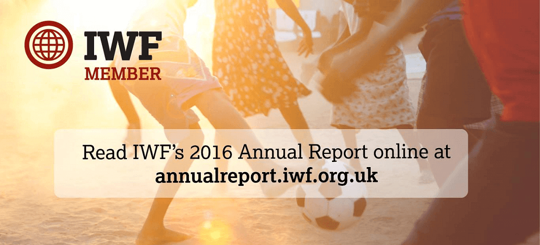 Latest Internet Watch Foundation reports figures on child sexual abuse images