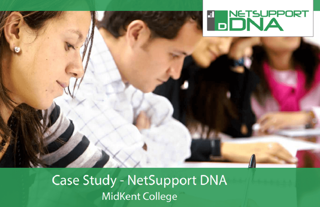 MidKent College discovers the benefits NetSupport DNA