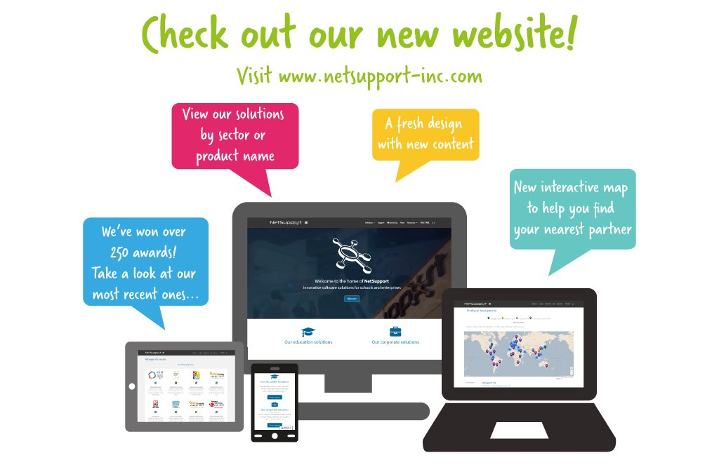 NetSupport launches its new website!