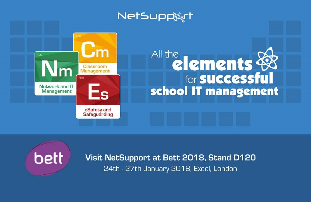 NetSupport is getting ready for Bett 2018