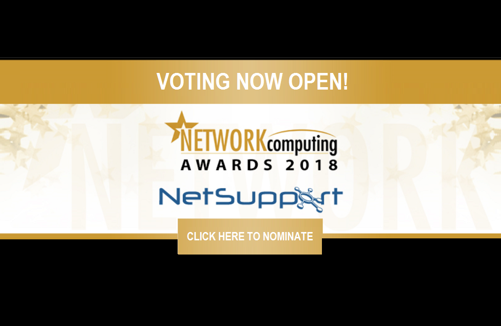 Network Computing Awards opens its 2018 nominations