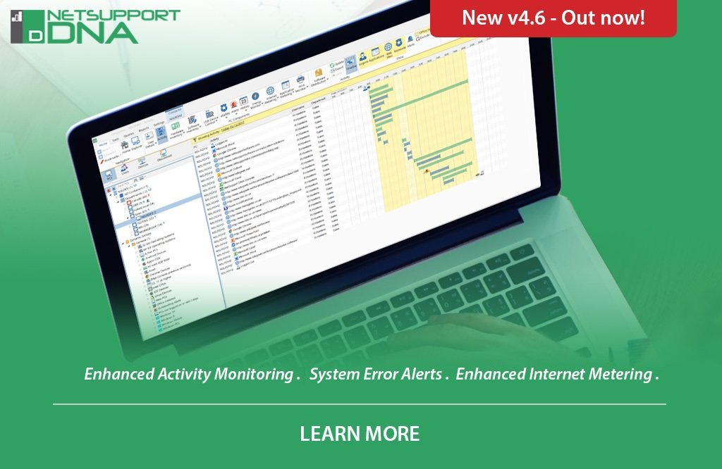 New version of Network and IT Management solution, NetSupport DNA, out now!
