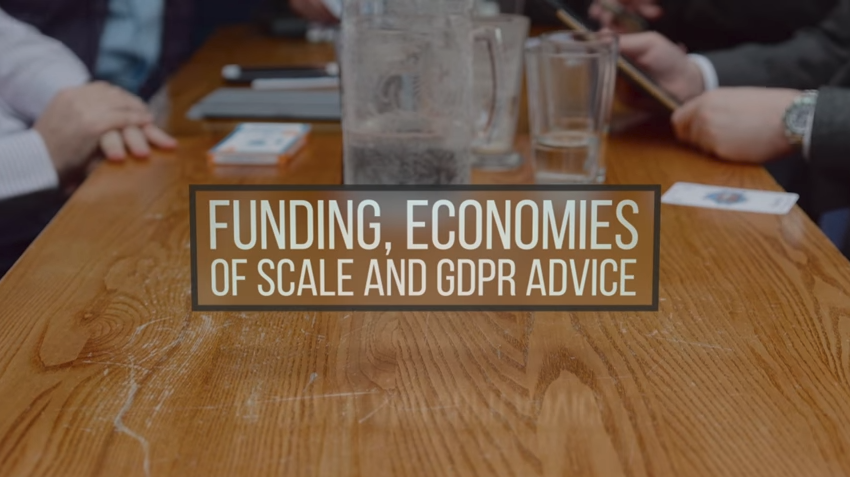 Chapter 3 – Funding, Economies of Scale & GDPR
