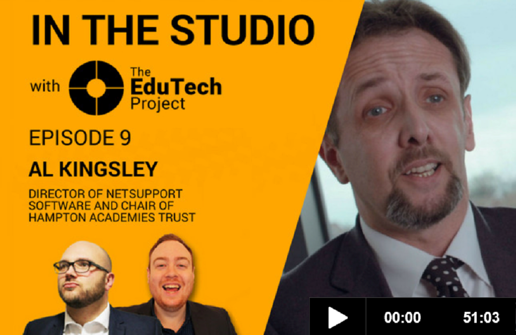 The EduTech Project interviews NetSupport's Managing Director, Al Kingsley