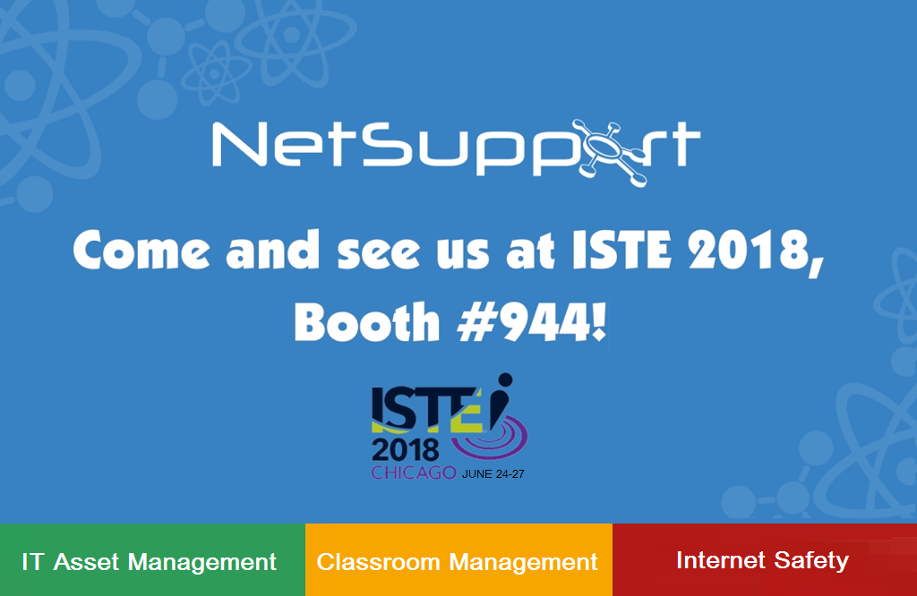 NetSupport is thrilled to be hosting EduGeek at ISTE 2018