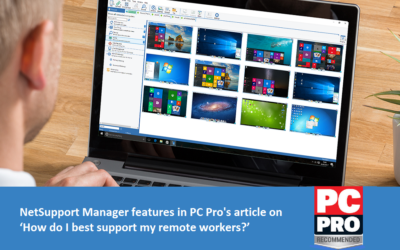 NetSupport features in PC Pro