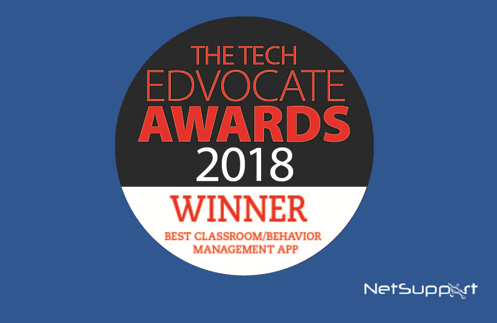 NetSupport School named winner in the 2018 Tech Edvocate Awards