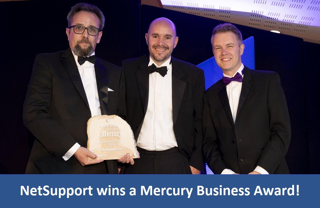 NetSupport wins a Mercury Business Award