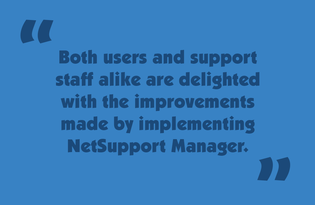 NetSupport Manager case study