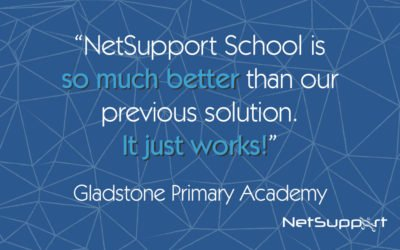 Gladstone Primary Academy review NetSupport School