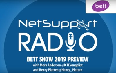 NetSupport Radio discusses edtech and Bett 2019