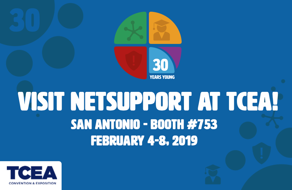 Visit NetSupport at TCEA!