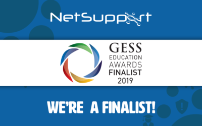NetSupport named finalist in the 2019 GESS awards