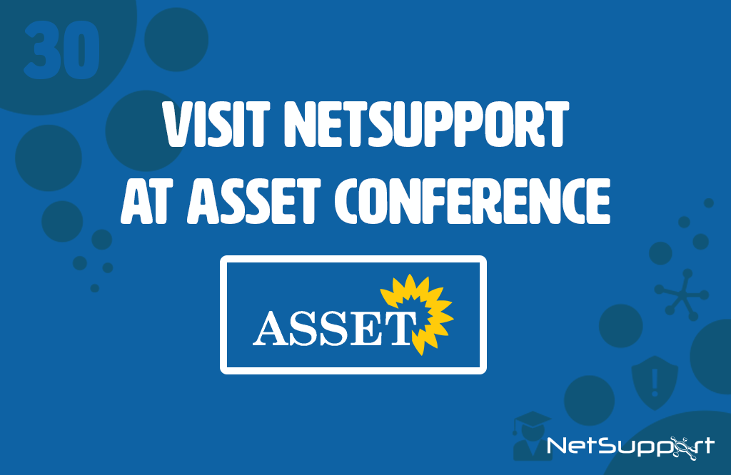 Visit the NetSupport team at ASSET Conference!