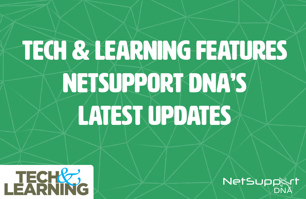 NetSupport features on Tech and Learning