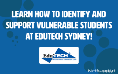 Learn how to identify and support vulnerable students at EduTECH Sydney!