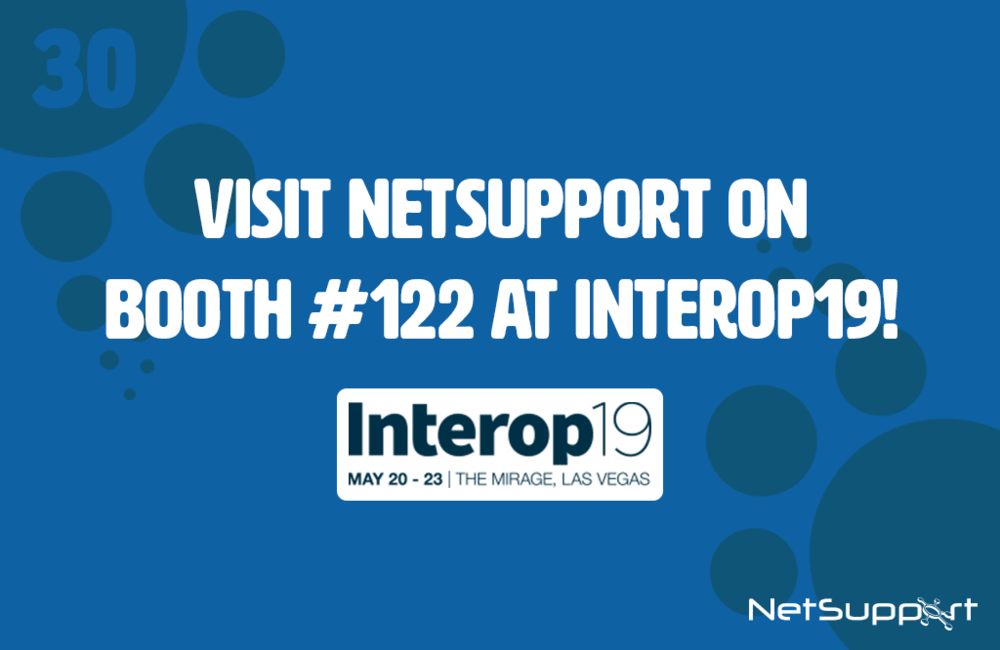 Visit NetSupport at Interop19!