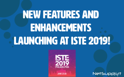 New features and enhancements launching at ISTE 2019!
