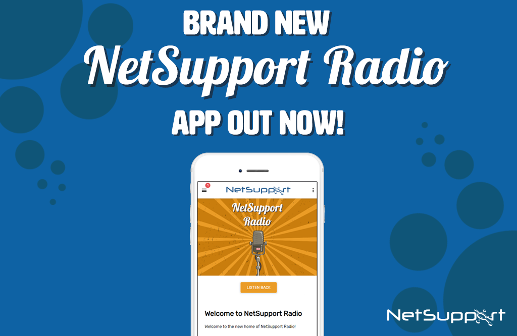 NetSupport launches new radio app!