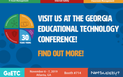 Visit NetSupport at GaETC!