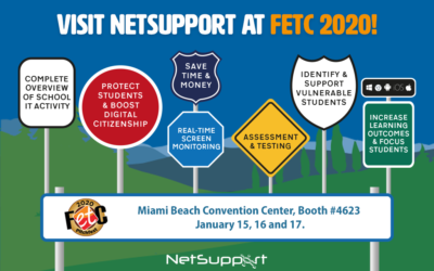 Come and see NetSupport at FETC 2020!