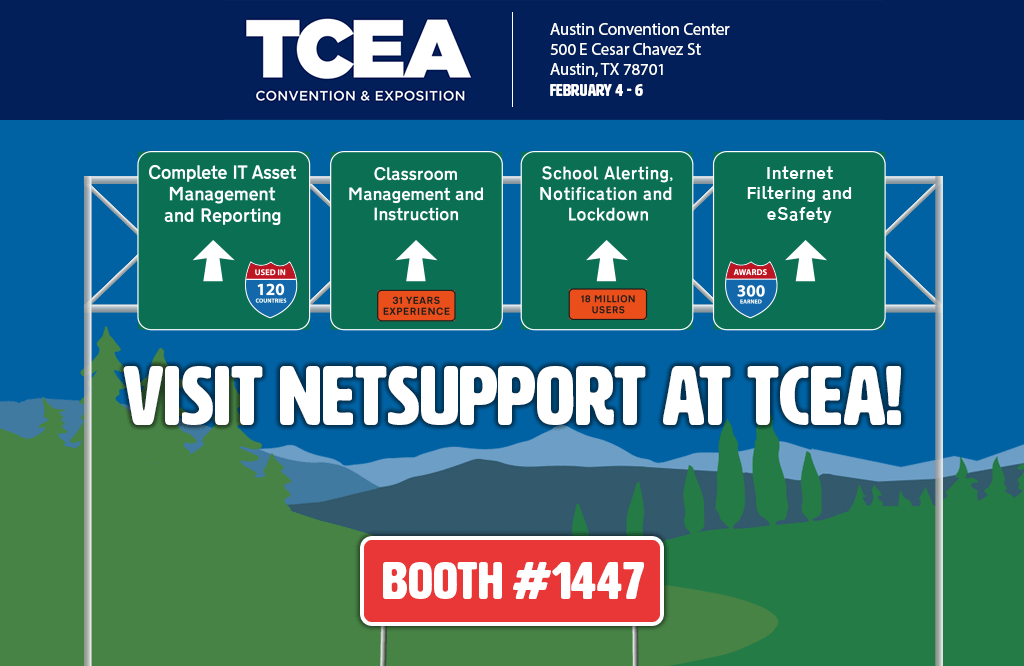 See the NetSupport team at TCEA!