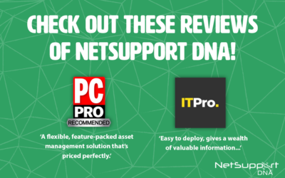 Check out these reviews of NetSupport DNA!