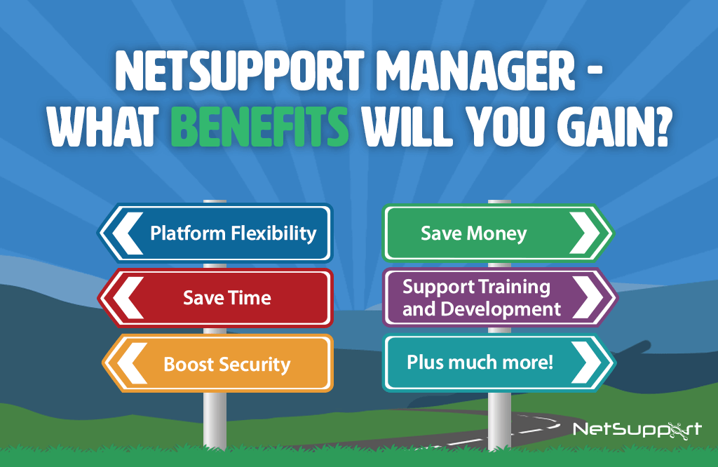 NetSupport Manager – What benefits will you gain?