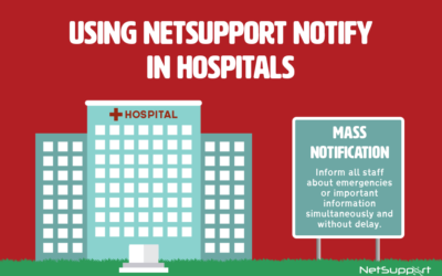 How NetSupport Notify can help hospitals…