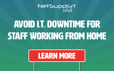 Avoid IT downtime for staff working from home