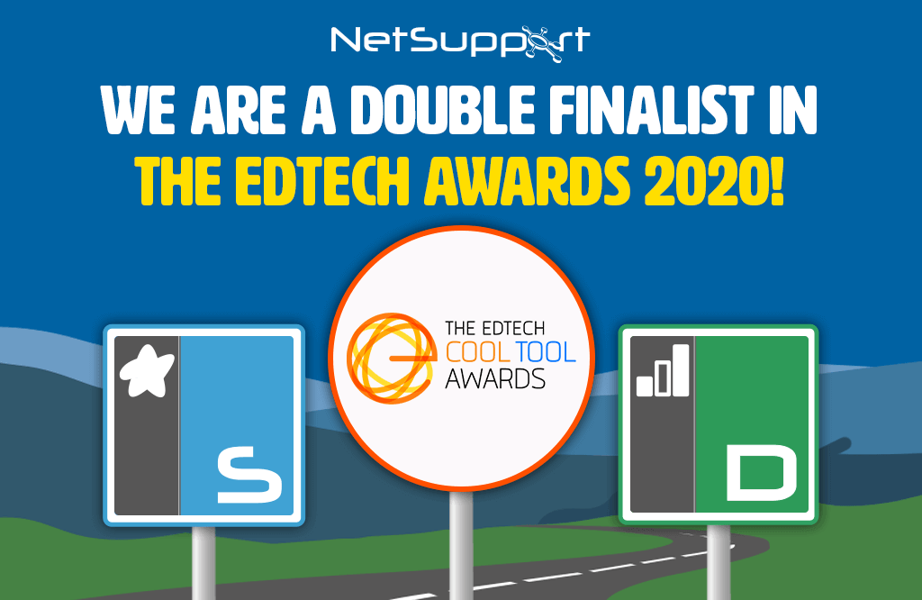NetSupport solutions are chosen as finalists in The EdTech Awards 2020!