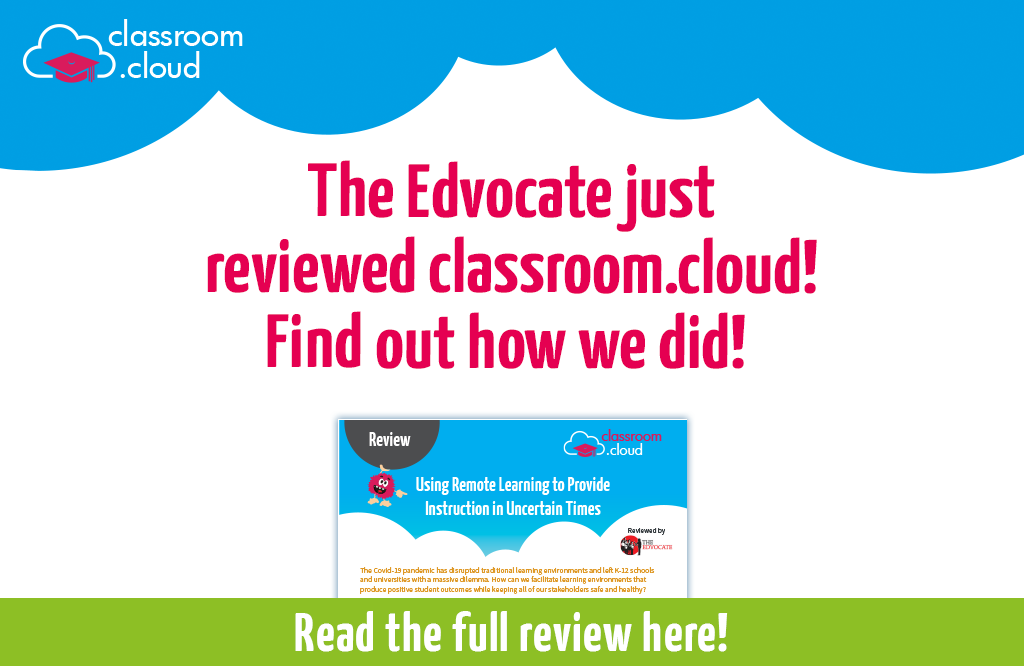 The Edvocate reviews classroom.cloud