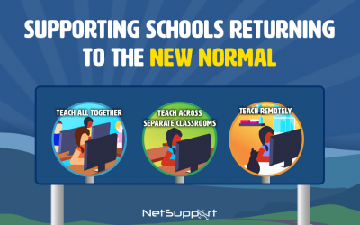 Supporting schools returning to the new normal!