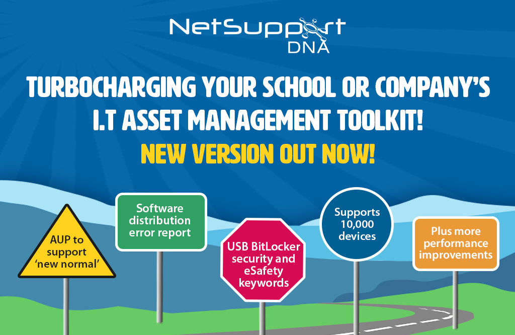 Turbocharging your school and business' IT Asset Management toolkit – v4.85 out now!
