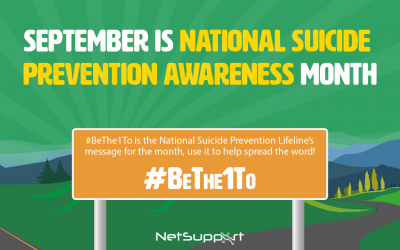 September is National Suicide Prevention Awareness Month!