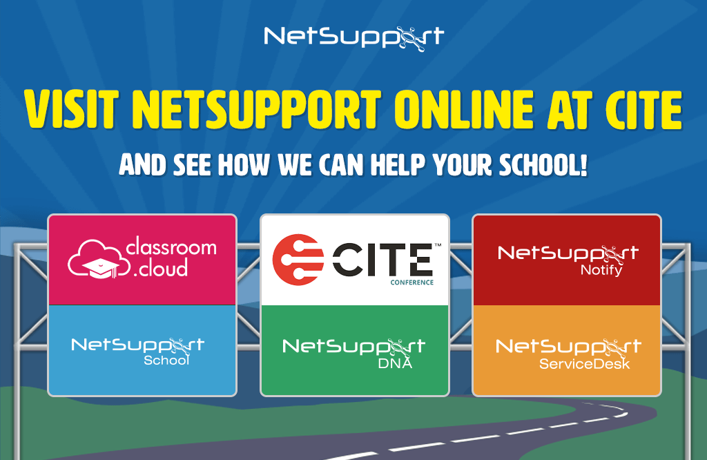 Visit NetSupport online at CITE!