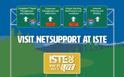 Visit NetSupport virtually at ISTE 2020!