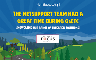 NetSupport has had a great time during GaETC!
