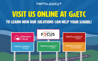 Visit NetSupport online at GaETC!