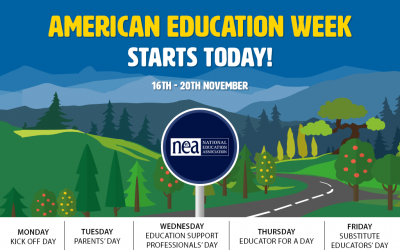 Today is the start of American Education Week!