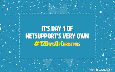 NetSupport's 12 Days of Christmas!