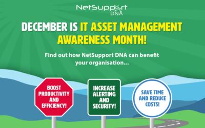 December is ITAM Awareness Month!