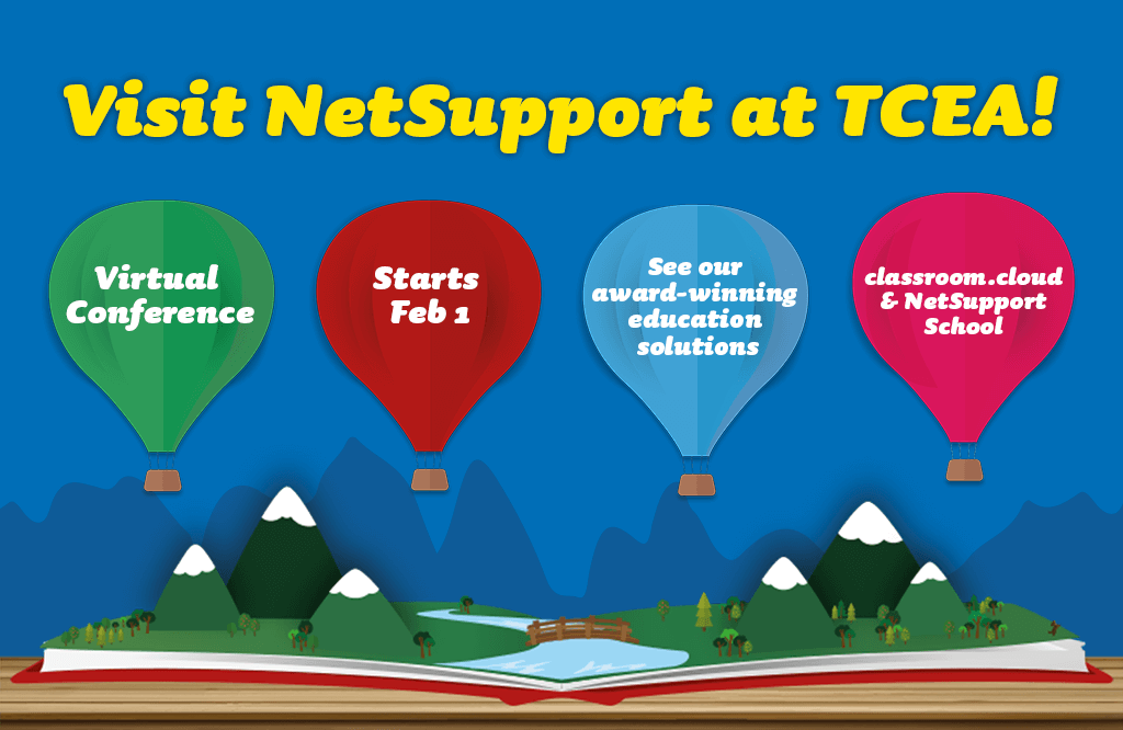 Visit NetSupport at TCEA virtually this February!