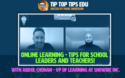 It's our third episode of #TipTopTips Edu!